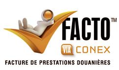 FACTURE DE PRESTATIONS DOUANIÈRES conex