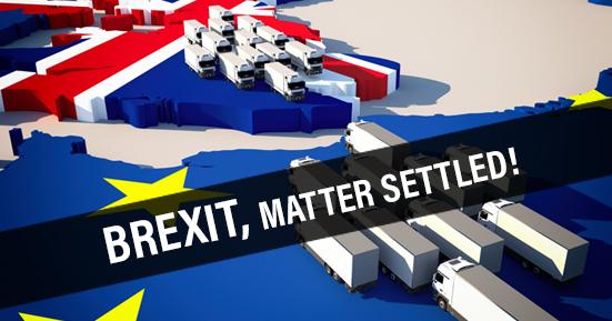 BREXIT-matter settled